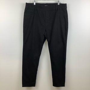 Suko Jeans Denim Pull-On Jeggings in Black